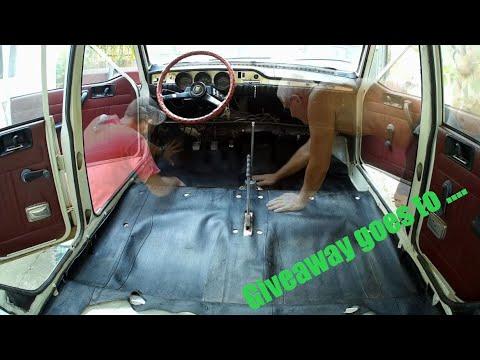 Dacia 1300 Barn Find - Day 5 Asamblare Interior