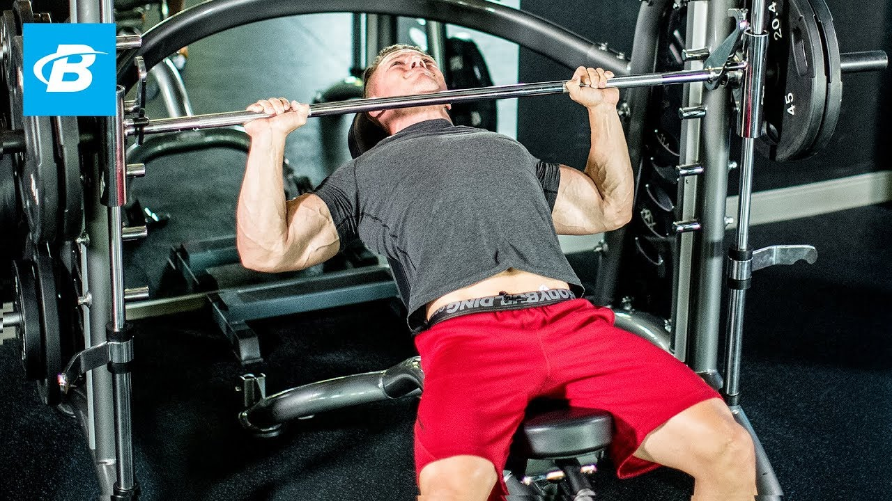 Steve Cooks 6 Exercise Chest Building Workout