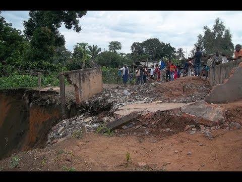 Kaggwa, le ravin qui décime la ville de Kikwit