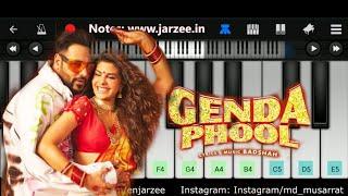 Genda Phool (Badshah, Payal Dev) - Easy Mobile Piano Tutorial | Jarzee Entertainment