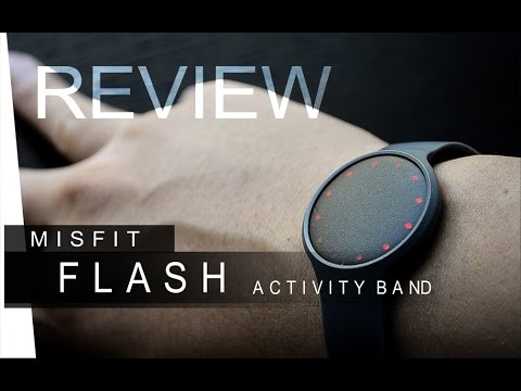 Misfit flash review youtube