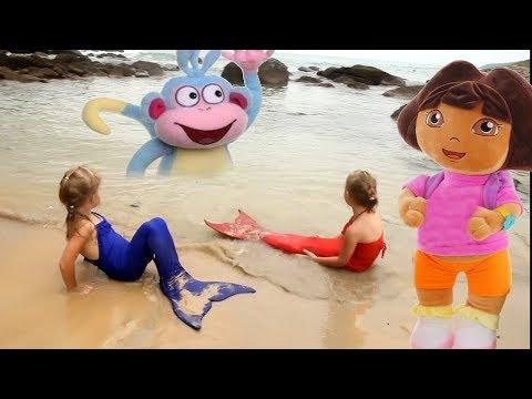 Мультфильм смотреть бесплатно даша путешественница серия даша русалка