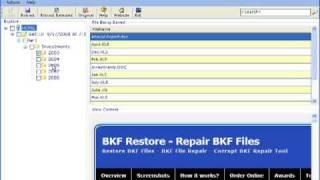 SysTools BKF Repair Tool