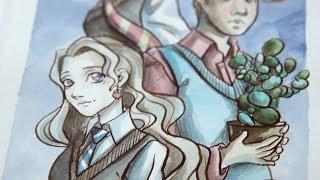 Иллюстрации по Гарри Поттеру // 31 days of Harry
