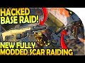 HACKED BASE RAID - NEW FULLY MODDED SCAR RAIDING - Last Day On Earth Survival Update 1.9
