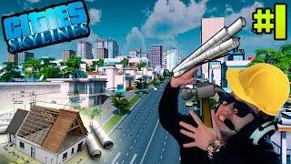 Construyamos la mejor ciudad!!! | el mejor juego de construccion | Cities Skylines #1