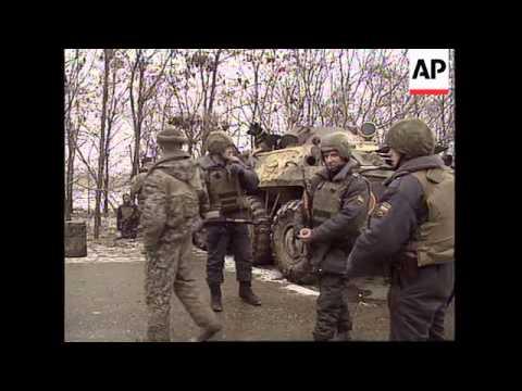 RUSSIA: CHECHNYA: FIGHTING AROUND GROZNY