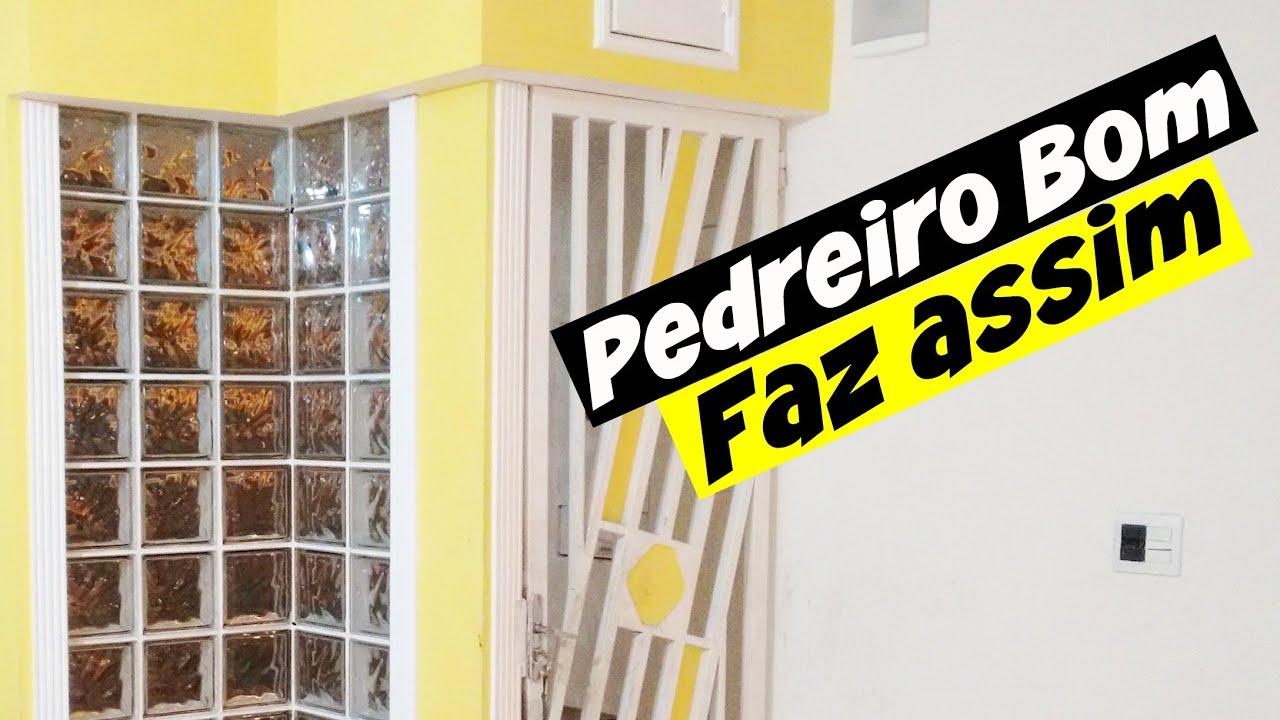 Box De Tijolo De Vidro Para Banheiro Banheiro Com Blocos Vidro With  -> Tijolo De Vidro Marrom