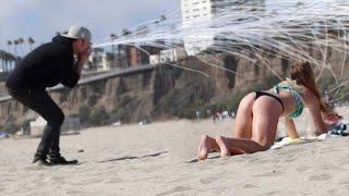 Sneeze on the beach Magic PRANK😤 ! -Julien Magic