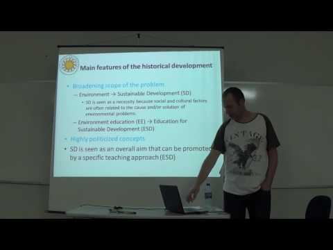 A Decade of Education for Sustainable Development in the Swedish school system - Niklas Gericke