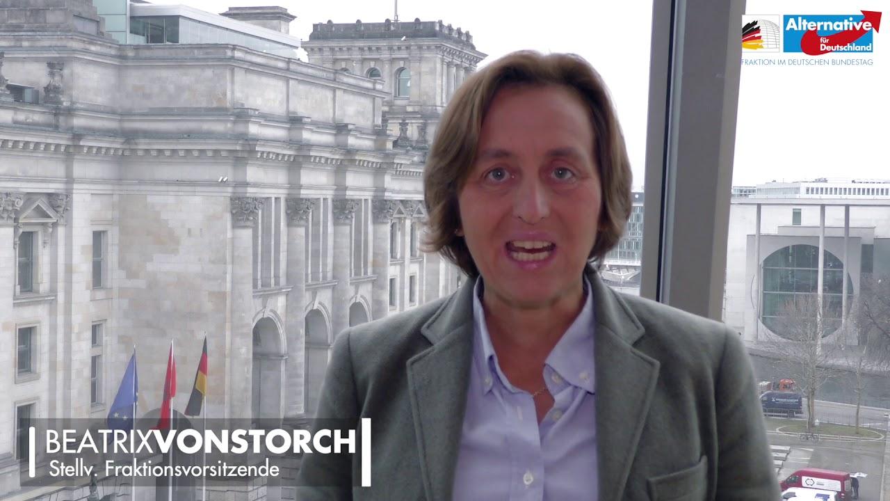 Beatrix von Storch (AfD) - Zitieren eines ehem. BVerfG-Richters bald schon verfassungsfeindlich?