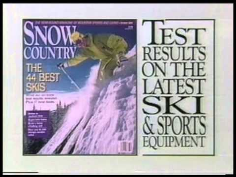 Snow Country Magazine - TV commercial 1992