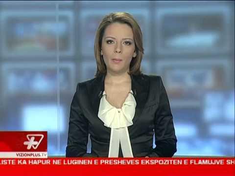 News Edition in Albanian Language - Vizion Plus - 2012 November 19 - 19:00