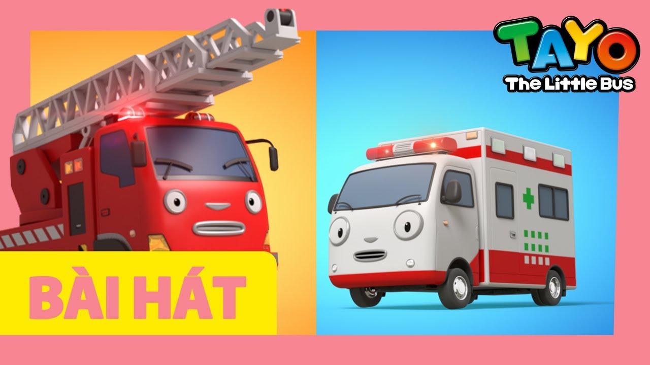Bài hát mở đầu Tayo Xe cứu hỏa và xe cứu thương l bài hát cho trẻ em l Tayo xe buýt nhỏ