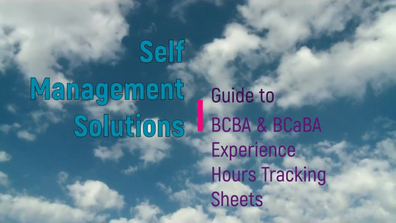 BCBA and BCaBA tracking forms