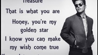 Repeat youtube video Treasure - Bruno Mars (Lyric Video)