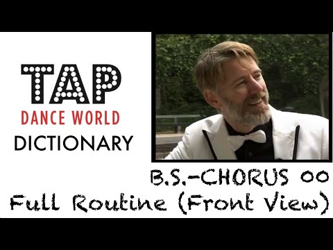 Tap Dance Dictionary BACK-FLAP CRAMPROLL Tapdans lesson handleiding Claquette Tutoriel Tutorial TDW from YouTube · Duration:  3 minutes 11 seconds