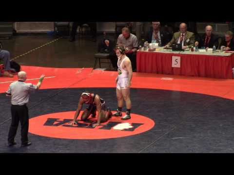 Harrison Williams vs Ryan Pitra State Championships 2014