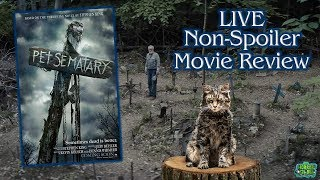 """Pet Sematary"" LIVE Non-Spoiler Movie Review - The Horror Show Channel"