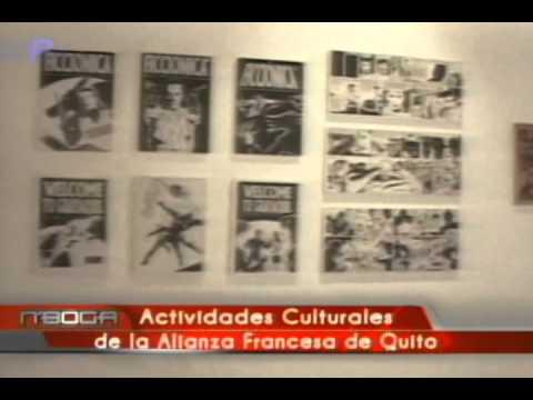 Actividades culturales de la alianza Francesa de Quito