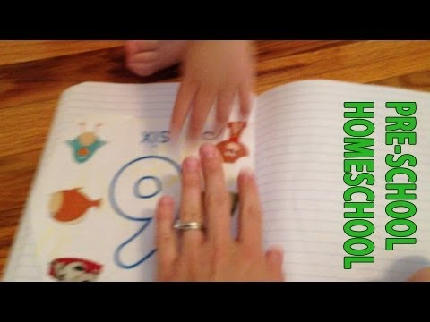 Pre-school Homeschool: Learning the Number 6