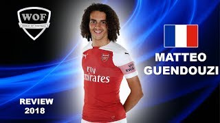 MATTEO GUENDOUZI | Incredible Skills & Passing | Arsenal Preseason 2018 (HD)