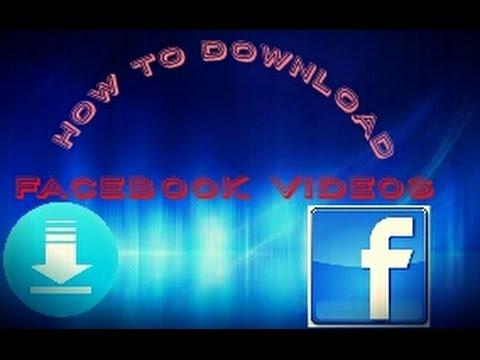 How to download facebook videos|Best facebook video downloader  2016|Download any video from facebook