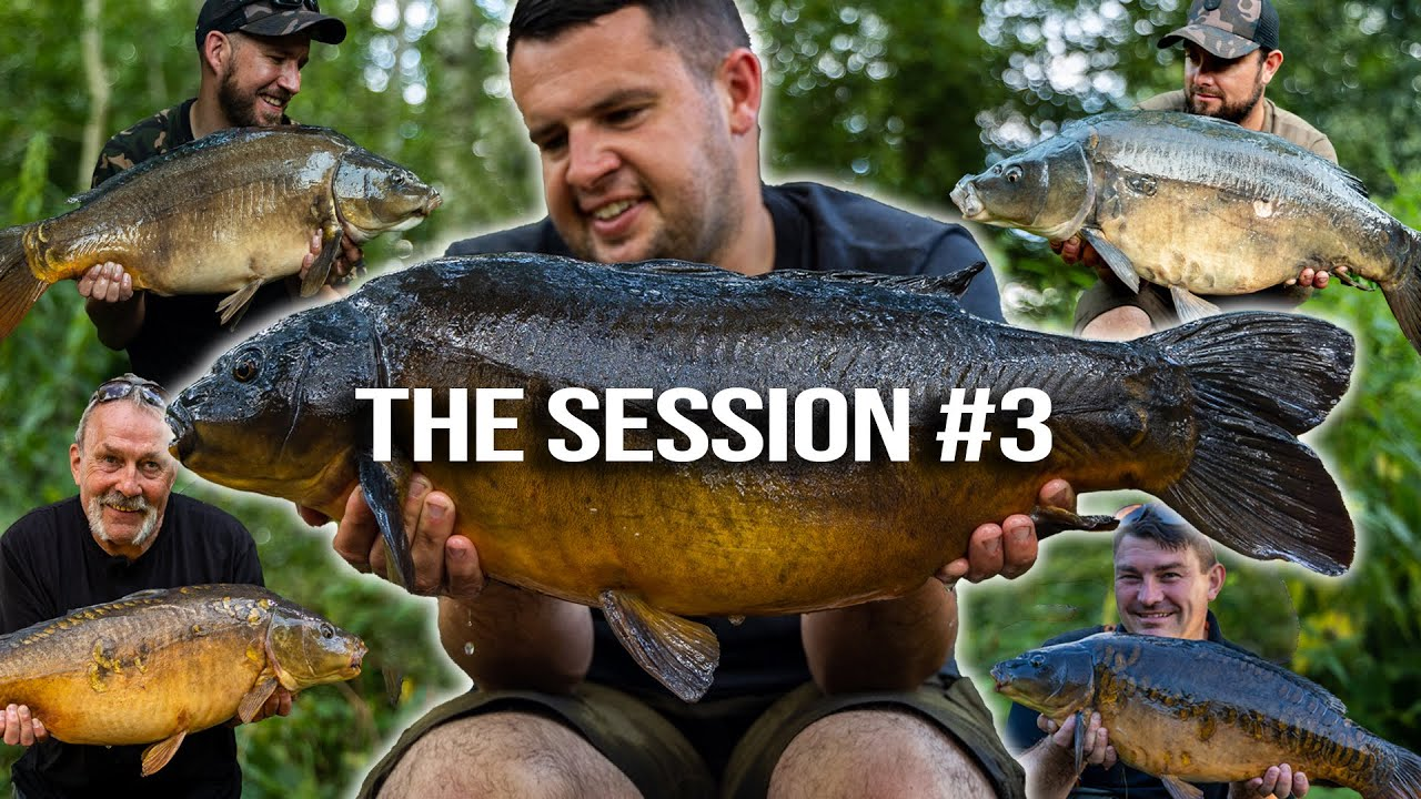 Download THE SESSION #3 - Carp Fishing Edges Season 2 | Episode 2 | Spomb Rod Giveaway!!