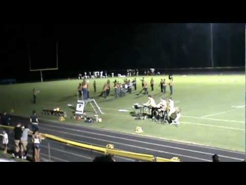Rappahannock County High School Marching Band 09/01/2012 First Football Game