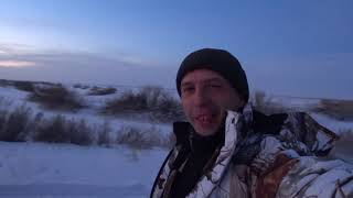 Ловля окуня в декабре Рыбалка на р Ишим