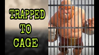 CLASH OF CLANS BUILDER BASE FUN - TRAPPED TO CAGE | BUILDER BASE FUNNY MOMENTS |