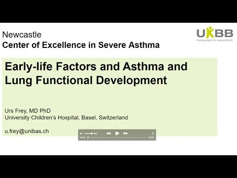 "Urs Frey ""Early-­Life Factors and Asthma Development"""