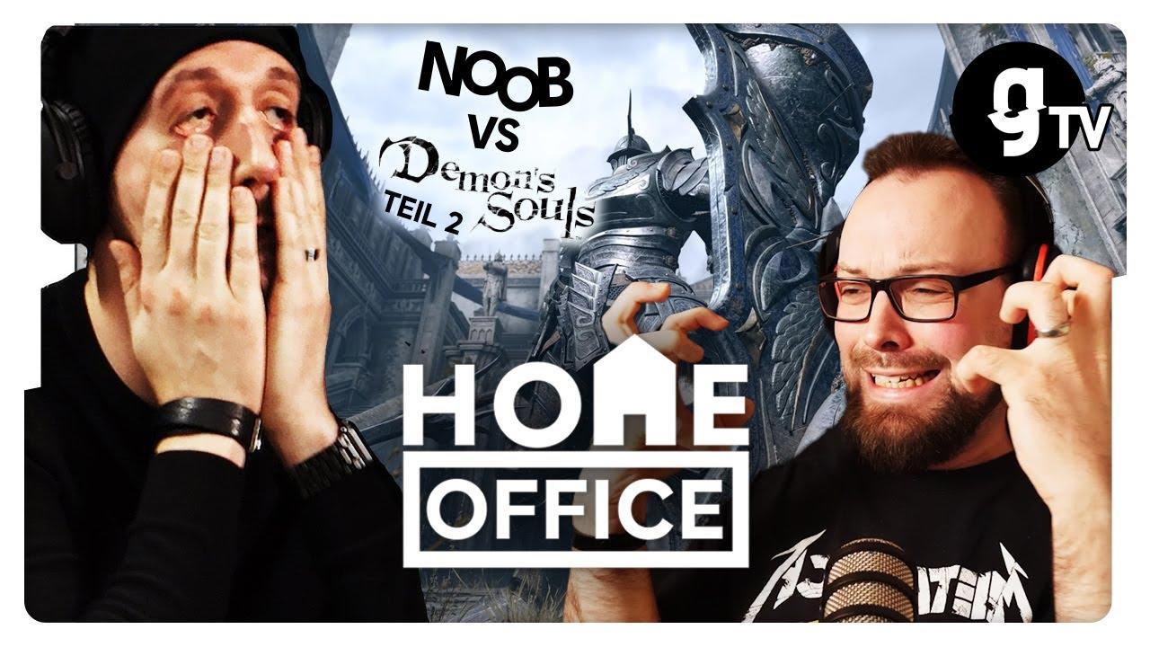 Noob vs. Demon's Souls #2 – Der Drache spuckt Feuer! | HOME Office #22 | gTV