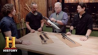 Forged in Fire: Bonus: Butterfly Swords Deliberation - Round 3 (Season 3, Episode 3) | History