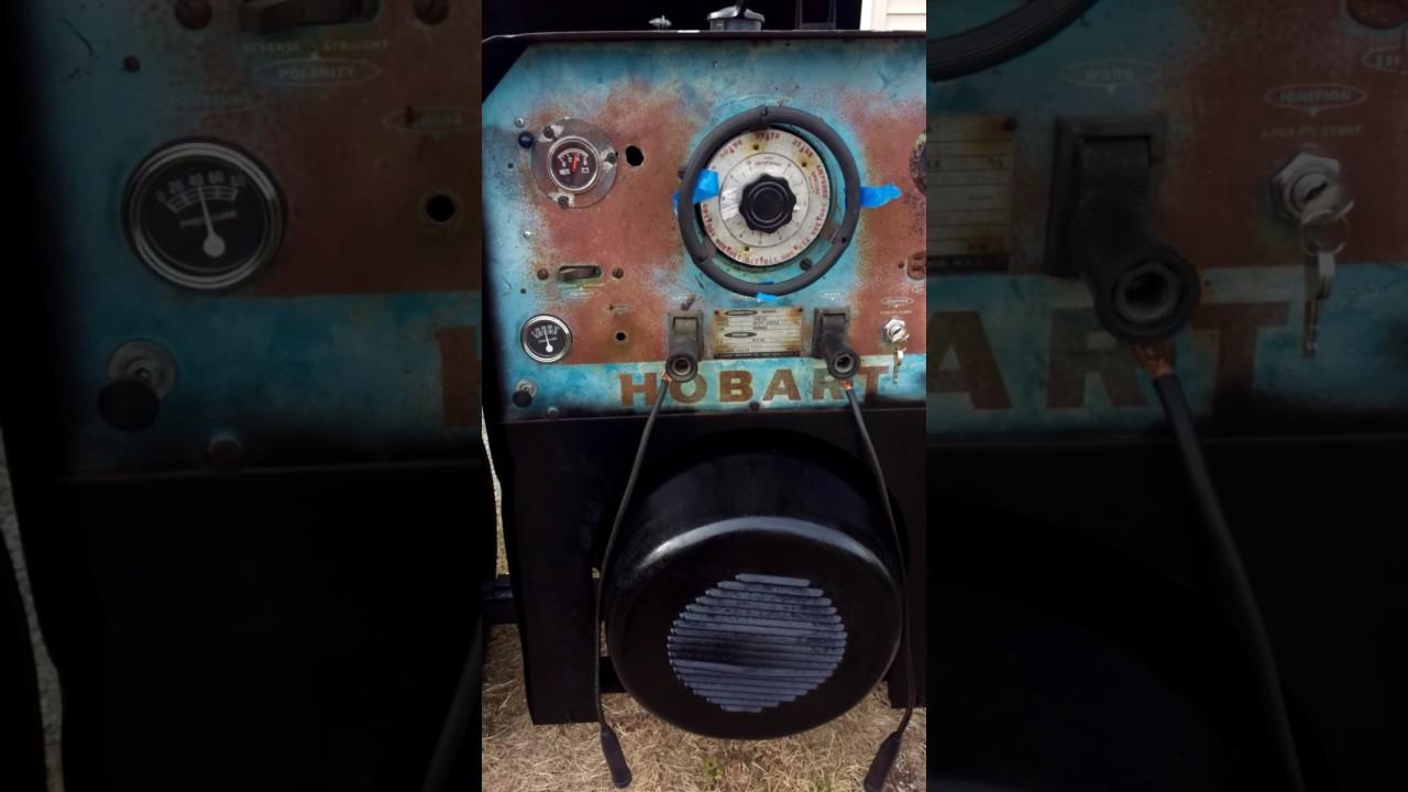 Hobart G 250 welder L4 Willy's industrial engine