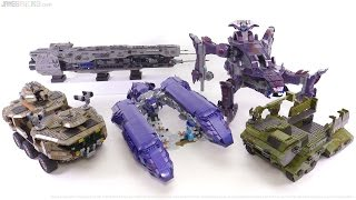 Mega Bloks Halo Mega-builds compared! Spirit vs. all