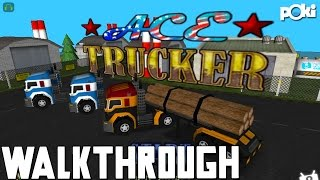 Do Some Truckin'! Ace Trucker Poki Walkthrough!