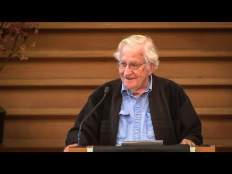 Neoliberalism's Intentional Destruction of High Quality Education - Noam Chomsky - 4 May 2018