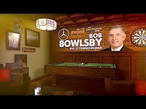 "Big 12 Commissioner Bob Bowlsby Talks ""Horns Down"" & CFP Expansion w/Dan Patrick 
