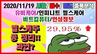 주식시황 오늘의 이슈 헬스케어주[최강주식]