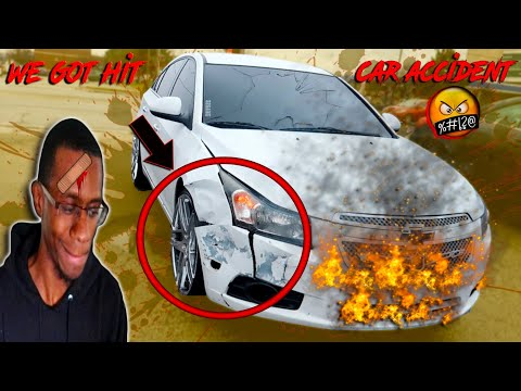 ME AND JAY GOT IN A CRAZY CAR CRASH IN HIS CRUZE THIS WAS SCARY