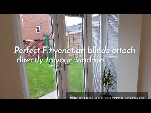Perfect Fit Blinds in a conservatory Wolverhampton