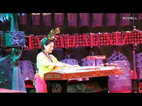 Hubei Provincial Museum - Chinese Musical Instrument   Wuhan City China