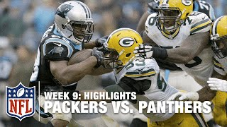 Packers vs. Panthers | Week 9 Highlights | NFL