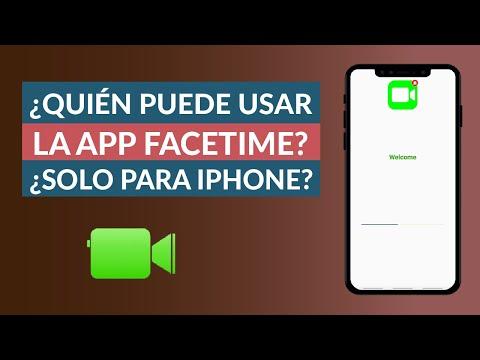 ¿Quién Puede Utilizar Facetime? ¿Es solo para iPhone?