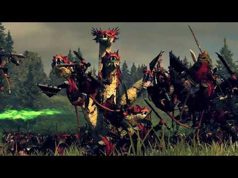 Dark Elves ⚔️ Skaven - Total War WARHAMMER 2  