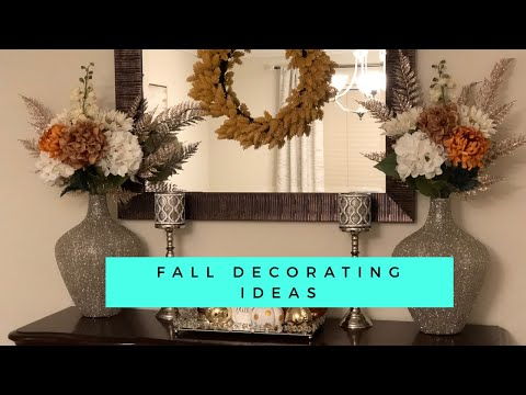 Fall 2019 Decorate With Me| Buffet/ Credenza Decorating Ideas