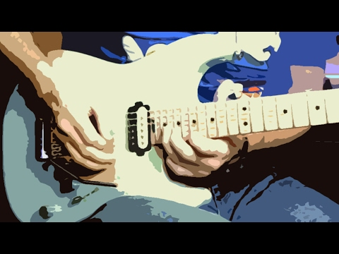 80's melodic hard rock guitar solo