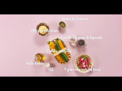 recette-de-tartelettes-à-la-courgette-en-forme-d'escargot