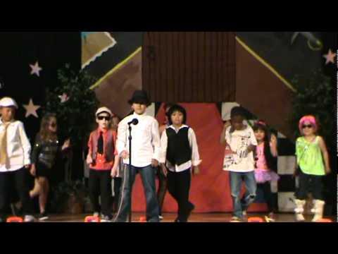 2012 Lakewood Elementary School 1st Graders Talent Show - Sunnyvale, CA